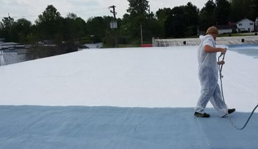 Innovative commercial flat roofing solutions